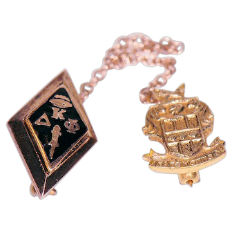 Fraternity / Sorority Pin  10K Kappa Delta Phi