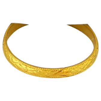 10K Yellow Gold Baby Ring