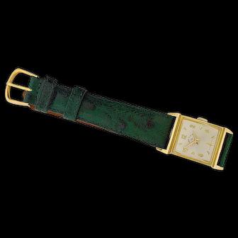 14K Yellow Gold 21 Jewel Lord Elgin Wristwatch