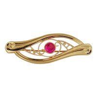 10K Pin .. Eye of Ra .. Created Ruby