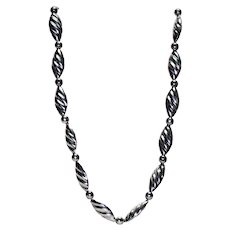 Reveriano Castillo Sterling Silver Large Necklace