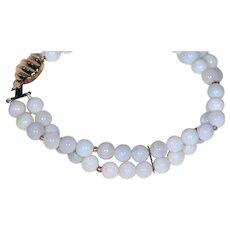 Natural Opal Set: Bracelet -- Necklace -- Earrings
