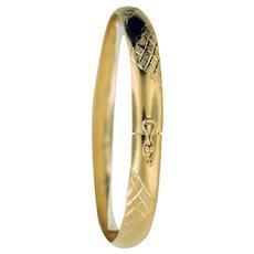 14K Yellow Gold Bangle/Bracelet