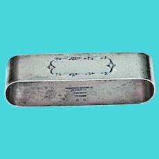 Oval Heavy Napkin Ring .. Schwanke-Kesten