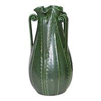 Ephraim Pottery Large Star Fern Vase