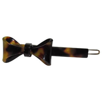 Lots Of Bling Without The $ting:  L. Erickson Faux Tortoise Shell Barrette