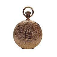 1889 American Waltham Rose Gold Pocket Watch From An Old Locked Away Estate Collection