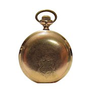 1903 Elgin GF Pocket Watch From An Old Locked Away Estate Collection