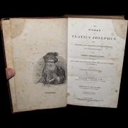 Invest In Books:  1835 The Works Of Flavius Josephus