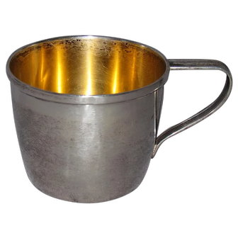 1930 Gorham Child's Sterling Silver Cup
