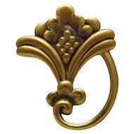 Vintage Art Nouveau Style Pin