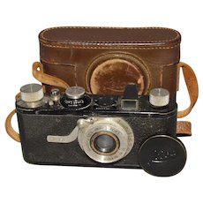 1930 Leica I Camera With Leather Case All Original & Working