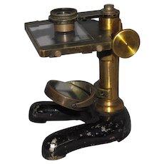 c1880s Antique Leitz Wetzler Dissecting Microscope