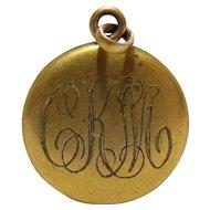 No $ting Estate Bling:  Antique Gold Filled Locket