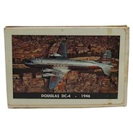 Vintage TWA DC-4 Collector Playing Cards
