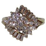 18K Gold 1 ⅓ CTW Diamond Ring