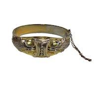 Vintage Gold Filled Whiting And Davis Bracelet