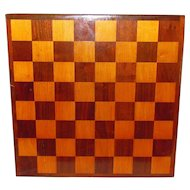 Vintage Hand Made Wood Game Board