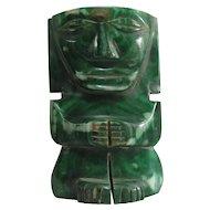 Vintage South American Carved Stone God