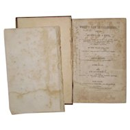 1848 What I Saw In California By Bryant: First Gold Rush Book
