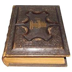 1877 Victorian Centennial Family Holy Bible