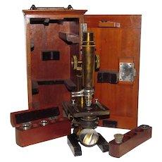 c1880 J. Klönne & G. Müller Berlin Microscope