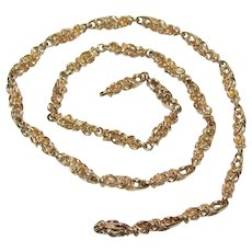 The Finest 14K – 18K Hand Made Gold Chain: Lost Wax Cast Links