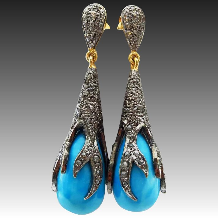 Designs Excellent of opulent diamond earrings new photo