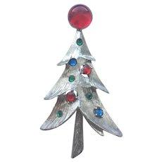 Beautiful Vintage RS Christmas Tree Pin - Book Piece