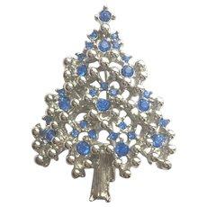 Iconic EISENBERG ICE Christmas Tree Pin - Book Piece