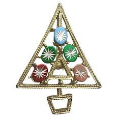 Iconic GOLD CROWN Christmas Tree Pin