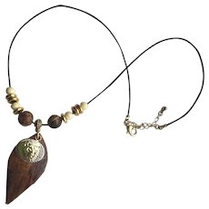 Fun and Different Necklace - Lion/Libra
