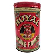 A Colorful Old Royal Baking Powder Tin