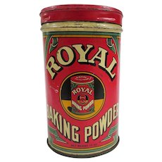A Colorful Old Royal Baking Powder Tin