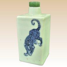 A Large Antique Chinese Medicine Bottle Turned Snuff Bottle