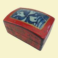 A Striking Little Antique Chinese Shard Box