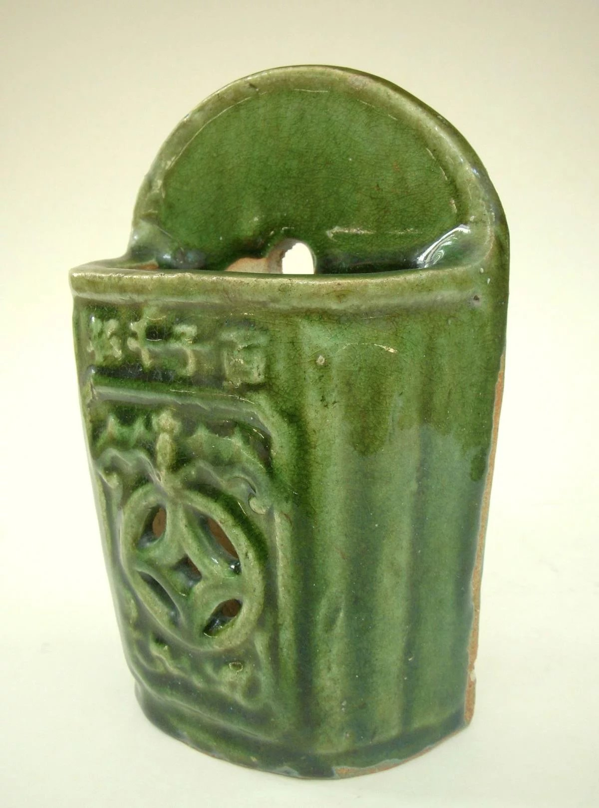 An Antique Chinese Stoneware Chopstick Holder Tradewinds