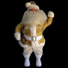 Harold Gale Gold Lamé Santa Doll 1963