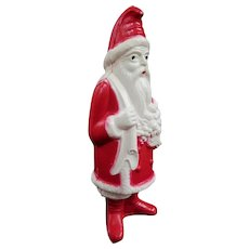 Irwin Red and White Celluloid Santa, C1930s