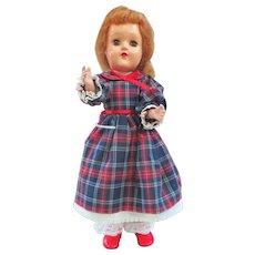 Early Ideal Red Hair Toni P-90 Doll Nylon Wig Circa 1949