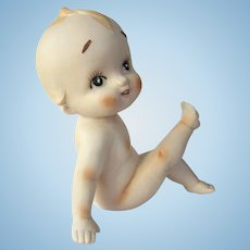 An Unusual Frozen Action Made in Japan Kewpie Brinn's Department Store Philadelphia