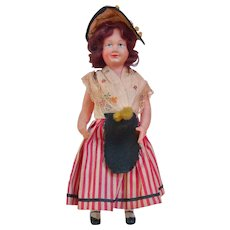 A Wonderful Antique French Celluloid Doll