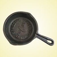 Promotional Miniature Frying Pan Spalding Gas Company Griffin Georgia