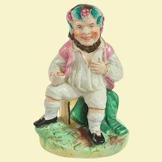 Antique English Staffordshire Bacchus Figure Circa 1840 to 1860