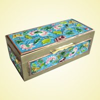 The Best Little Vintage Chinese Enamel Stamp Box