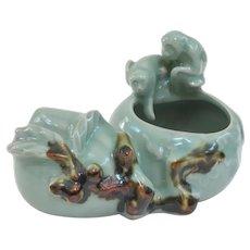 An Interesting Vintage Chinese Brush Pot
