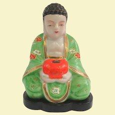 Cute Occupied Japan Buddha Incense Burner