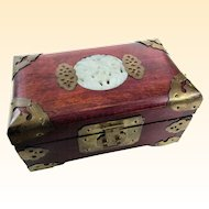 An Unusual Vintage Chinese Musical Jewelry Box