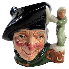 Vintage Royal Doulton Miniature Character Jug Tam O'Shanter