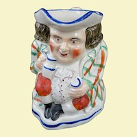 An Early Allerton Toby Mug C1860
